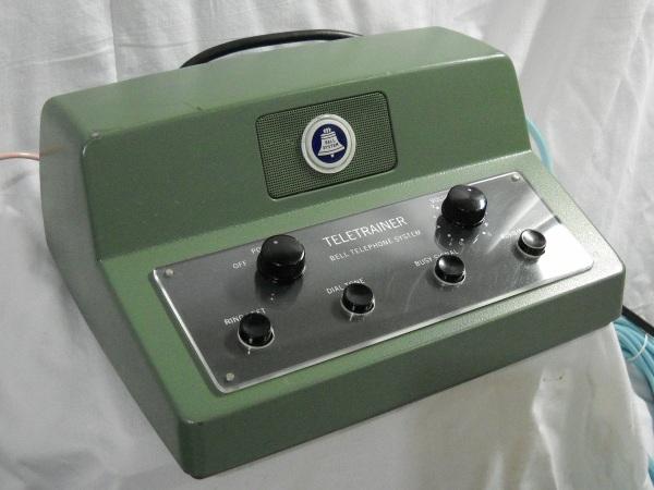 Teletrainer control unit front