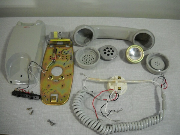 SET 000-015 intercom phone 001
