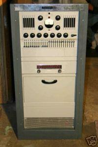 Dukane floor-standing console