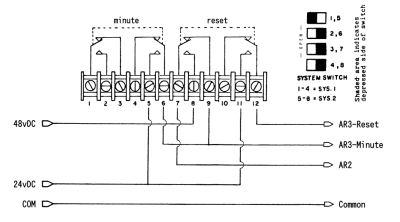 SET AR wiring diagram for LTR8-128